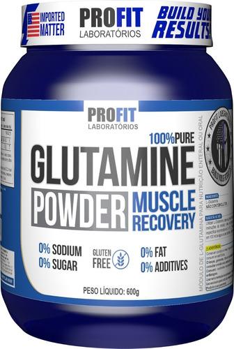 Glutamina Pura Powder Pote 600g - Profit