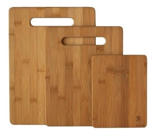 Imagen 1 de 6 de Totally Bamboo Tabla Cortar Madera Bambú