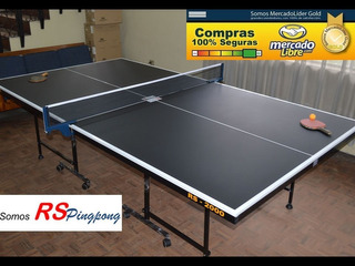 Mesas De Ping Pong R S 2000 ¡¡¡ Oferta Navideña !!!