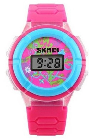 Relógio Infantil Skmei Digital 1097 Detalhes Azul