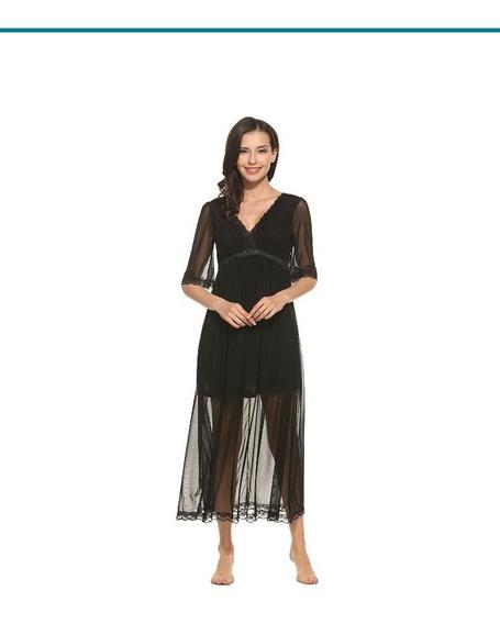 Vestido Negro T: Mediana