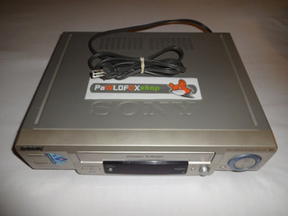 Vhs Sony Power Trilogic Slv-l72hf (leer Descripcion)