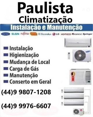 Higienização Ar Condicionado, Instalação E Manutenção,cercas