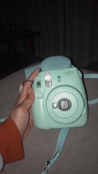 Kit Câmera Fujifilm Instax Mini 9 Azul Gelo