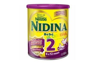 Nidina 2 Nestle 6 A 12 Meses Formula 800gr X 6 Paquetes