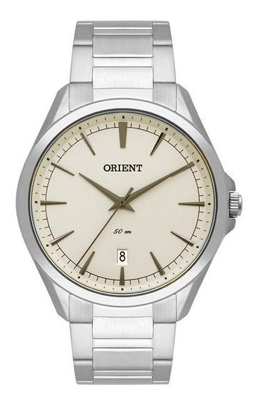 Relógio Orient Masculino Prata Mbss1343 I1sx