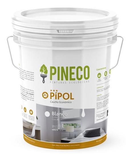 Pintura Blanca - Pineco Pipol Tipo B Económica (4 Galones)