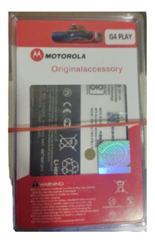 Batería Original Motorola G4 Play