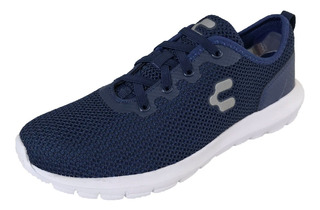 Tenis Charly Hombre 1029144 Marino Textil Deportivo Running