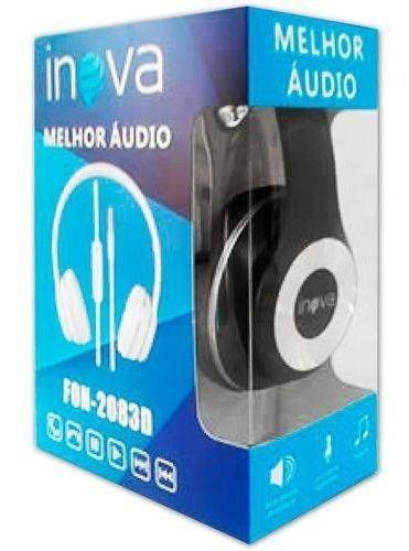 Fone De Ouvido Microfone Melhor Áudio Inova - Fon-2083d