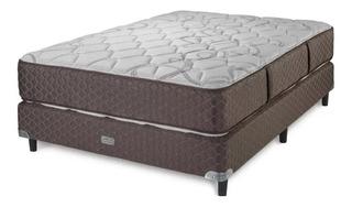 Sommier Y Colchon 200x160x55 Piero Con Pillow