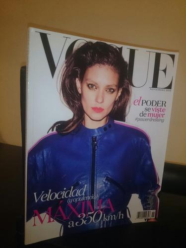 Revista Vogue Latinoamerica Noviembre 2016 Diseño Moda Nueva