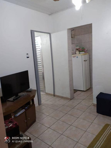 Imagem 1 de 11 de Casa Com 1 Dormitório À Venda, 30 M² Por R$ 110.000,00 - Jardim Real - Praia Grande/sp - Ca0983