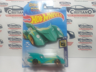 Batmobile Hw Screen Time 3/10 Scooby-doo & Batman Hot 1/64