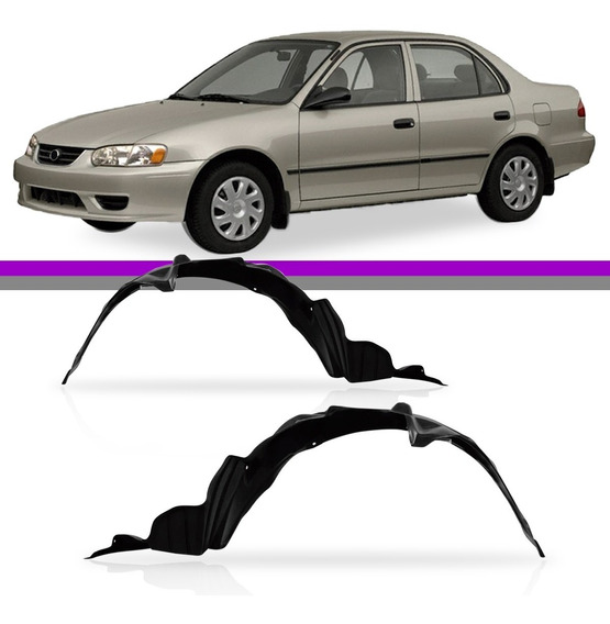 Par Parabarro Dianteiro Corolla 1998 1999 2000 2001 2002