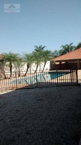 Imagem 1 de 19 de Chácara Com 1 Dormitório À Venda, 1135 M² Por R$ 425.000 - Bairro Loiolas - Limeira/sp - Ch0027