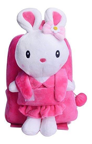 Gloveleya Conejito Conejo De Peluche Infantil Mochila Bolsas