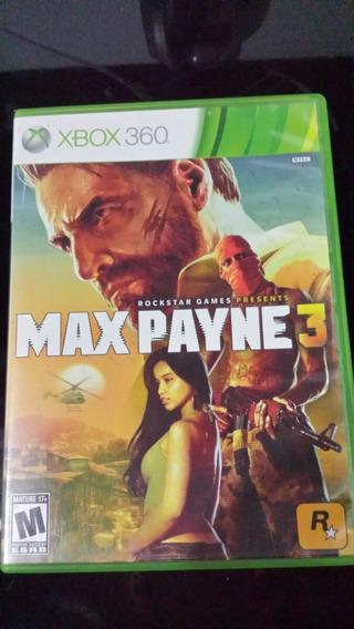 Jogo Max Payne Original Xbox 360