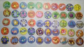 Coleçao De Tazos Pokemon Importados