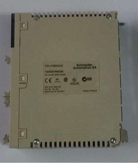 Tsxdey64d2k Discreto Modulo De Entrada Schneider Automation