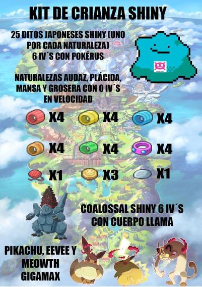 Kit Para Crianza Shiny Pokemon Espada Y Escudo