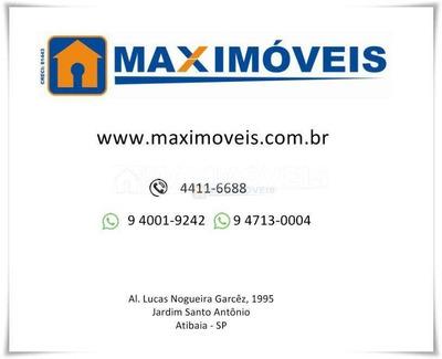 Terreno Residencial À Venda, Res Figueira Garden Atibaia, Atibaia. - Te0006