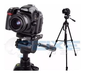 Tripé Profissional Universal 1,80m Sony Cannon Nikon