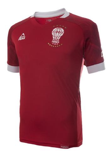 Imagen 1 de 10 de Camiseta Alternativa 1 Huracán Peak Sport 2021