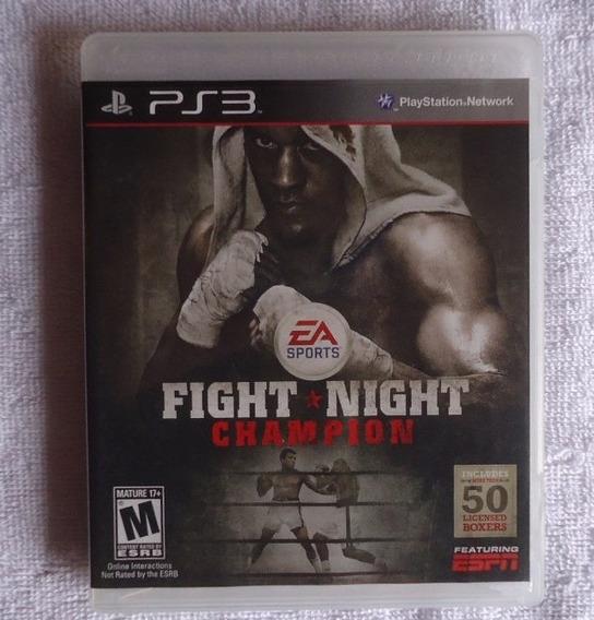 Fight Night Champion Ps3 ** Frete Gratis Leia