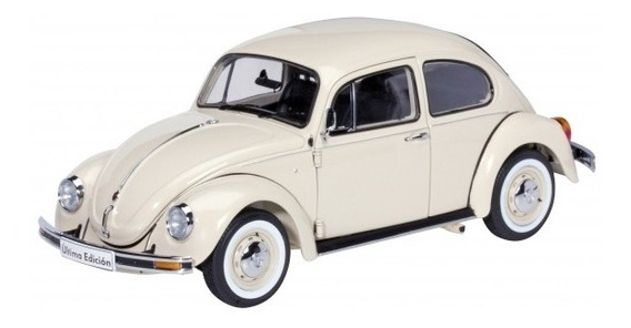 Miniatura Volkswagen Fusca Ultima Edicion Marfim 1/18 Schuco