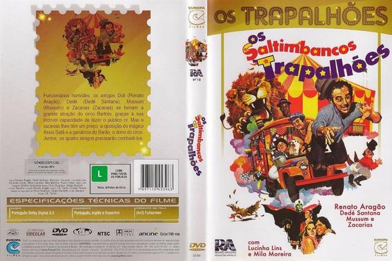 Dvd Os Saltimbancos Trapalhões - 1981