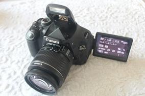 Canon T3i Com Lente 18-55mm . 12x Sem Juros E Frete Grátis