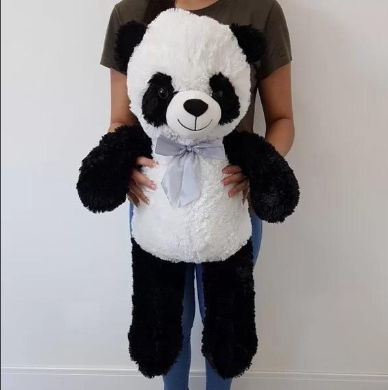 Urso Pelúcia Panda Grande 82cm Presente Namorada Festa Natal