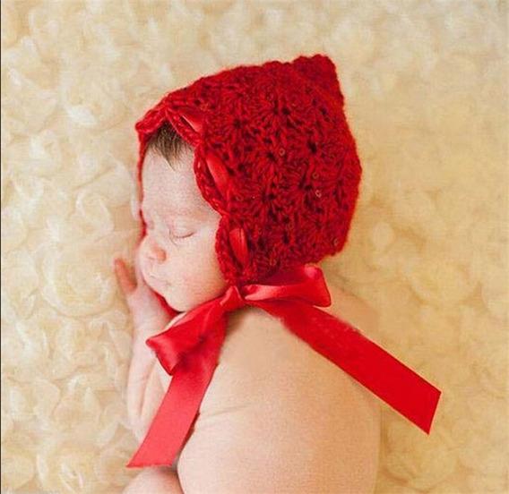 Touca Newborn Fotografia Props Fotos