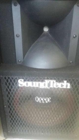 Caixa Se Som Soundtech (estudo Trocas)