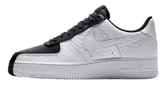 Zapatillas Nike Air Force 1 Low Spit Blanco Y Negro