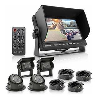 Kit De Sistema De Video Con Monitor Multicamara 7 Rvista Cua