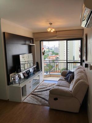 Lindo Apartamento Localizado Na Charmosa Rua Jaci Na Chácara