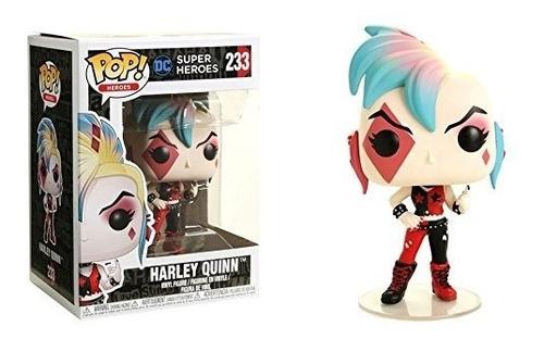 Funko Pop! Dc Heroes Harley Quinn #233 Skull Bags