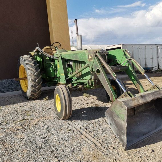 Tractor Agricola John Deere 91 Hp 4020 Con Pala
