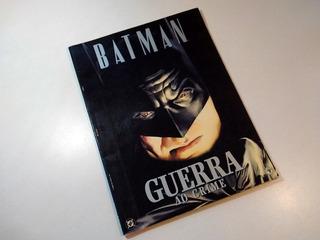 Comic Batman Guerra Crimen Revista Libro Portugués Alex Ross