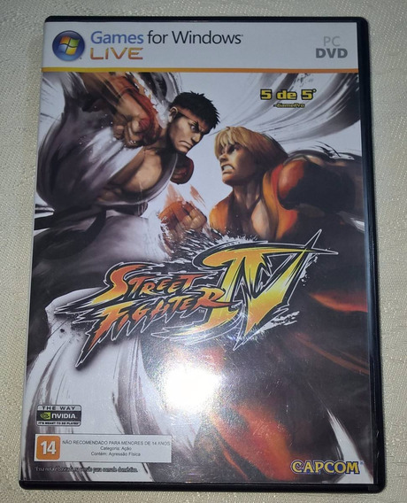 Jogo Para Pc Street Fighter Iv Original