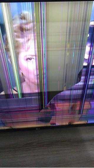 Tv Lg Com Nota .. 43 Polegadas Com Tela Quebrada...