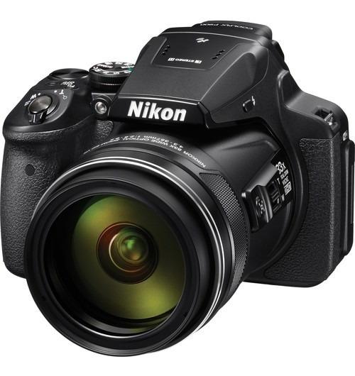 Câmera Nikon Coolpix P900 - Semi-profissional - 83x Zoom