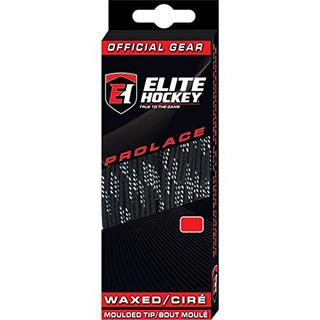 Cordones De Hockey Encerados Prolace De Hockey Elite (negro,