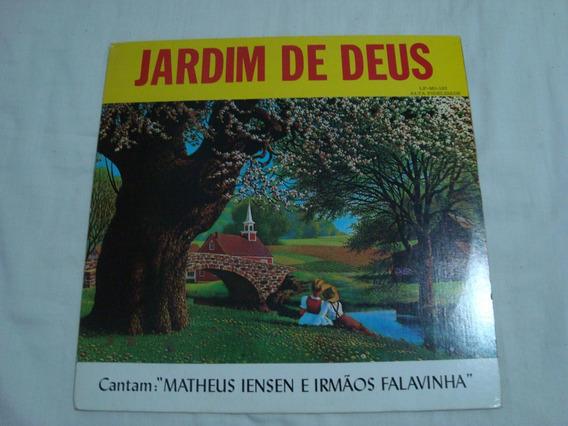 Lp Vinil Matheus Iensen E Irmãos Falavinha Jardim De Deus