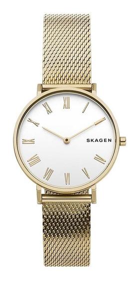 Relógio Skagen Feminino Slim Analógico Skw2713/1dn