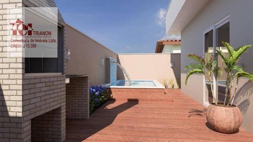 Casa Com 2 Dormitórios À Venda, 50 M² Por R$ 189.000,00 - Umuarama Parque Itanhaém - Itanhaém/sp - Ca0404