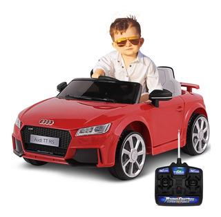 Carro Elétrico Infantil Audi Tt Com Controle 921700 12v