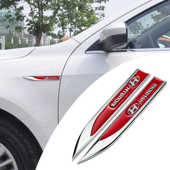 Acessórios Emblema Lateral Hyundai Hb20 Ix35 Tucson Creta